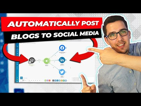 How to Share a YouTube Video or Blog Post on Social Media Automatically