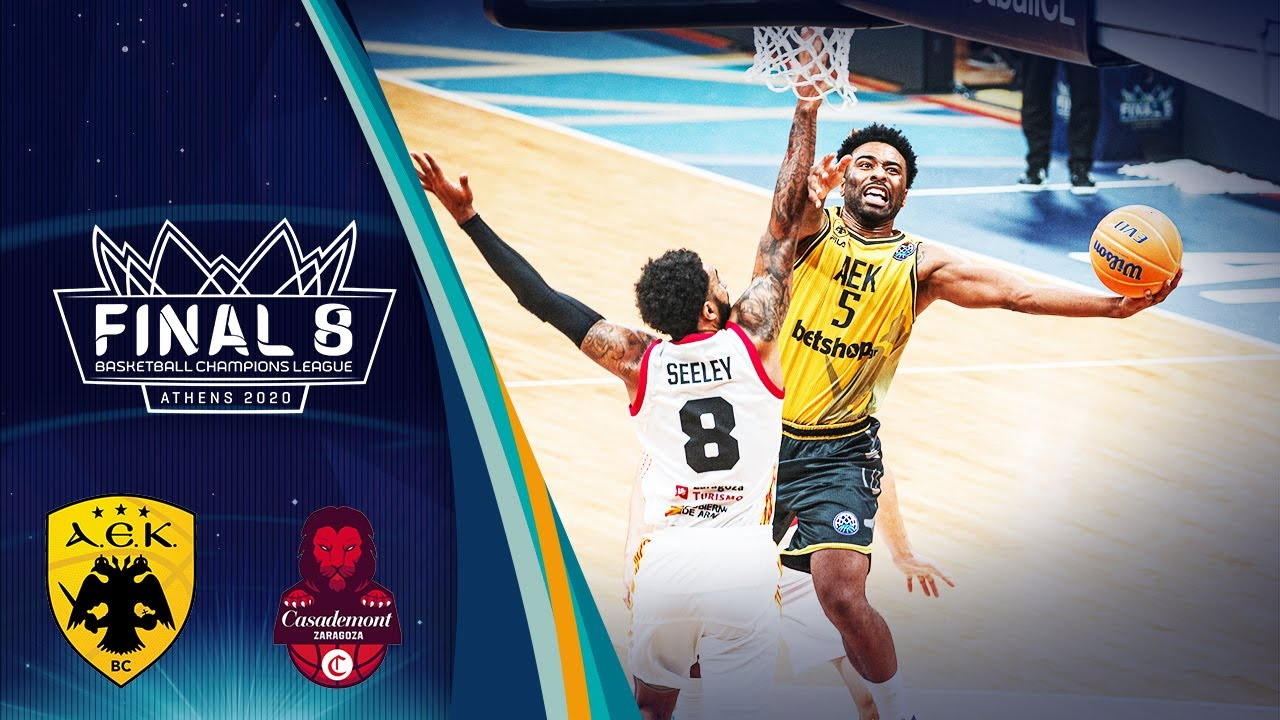 AEK v Casademont Zaragoza - Highlights - Semi Finals - Basketball Champions League 2019