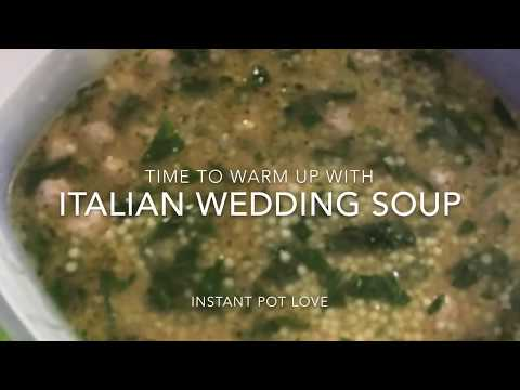 Instant Pot EASY Italian Wedding Soup!