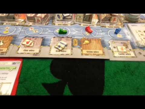 Le Havre (1/4): Partida completa passo a passo e em português
