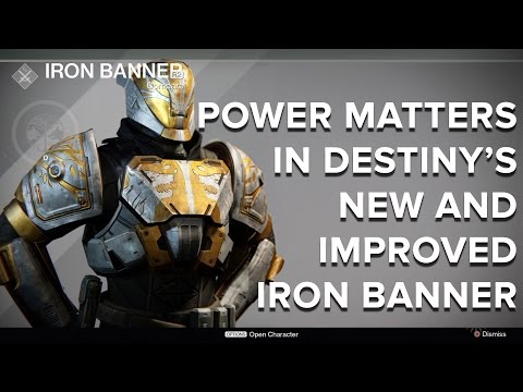 Power matters in Destiny's new and improved Iron Banner - Eurogamer