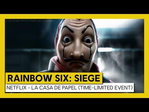 Tom Clancy's Rainbow Six Siege – Netflix - La Casa de Papel (time-limited event)