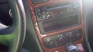 Mercedes Benz w203 radio with Energy Sistem F2 FM transmitter Aux,USB,SD card