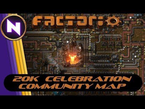 Factorio Community Multiplayer - CELEBRATING 20K SUBSCRIBERS