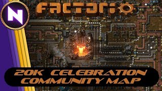 Factorio Community Multiplayer - CELEBRATING 20K SUBSCRIBERS
