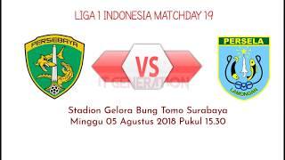 LINK LIVE STREAMING PERSEBAYA vs PERSELA √ [LIGA 1 INDONESIA] 05/08/2018