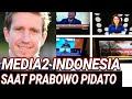 WARTAWAN ASING SOROTI MEDIA SAAT PIDATO PRABOWO;TV ONE;METRO TV;CNN;KOMPAS TV;I NEWS;CAPRES 2019;UAS