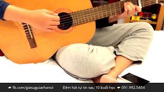 Alone (Alan Walker) - Guitar Cover by học sinh gia sư guitar Hà Nội (có hợp âm)
