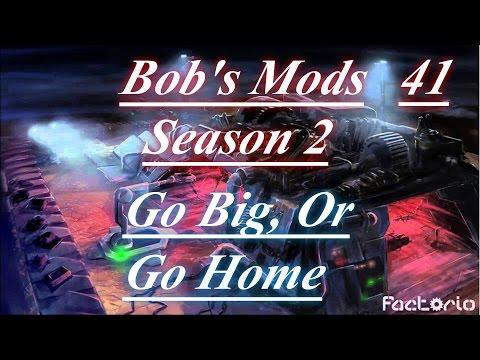 """Factorio With Bob's Mods Season 2 Ep #41 """"MK3 Robot Production & Energy Crisis"""""""