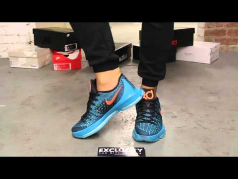"""KD 8 """"Road Game"""" On-feet Video at Exclucity"""
