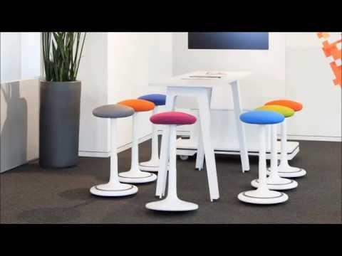 pape rohde pr sentiert ongo ergonomischer hocker youtube. Black Bedroom Furniture Sets. Home Design Ideas