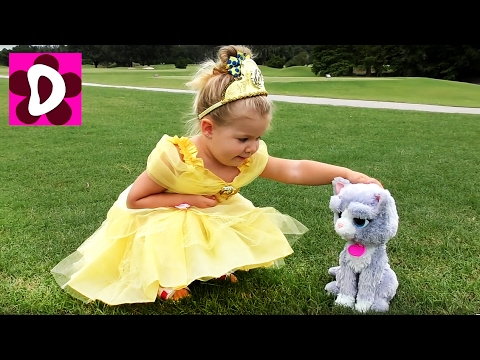ПРИНЦЕССЫ в Реальной Жизни Ариэль, София, Белль Сборник Видео для Детей Disney Princess in real life