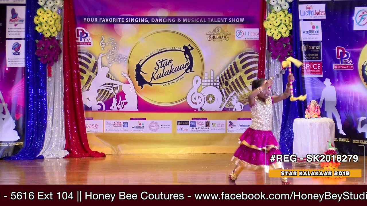 Registration NO - SK2018279 - Star Kalakaar 2018 Finals - Performance