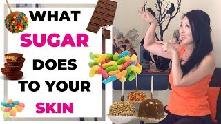 How Sugar Ages Your Skin Faster