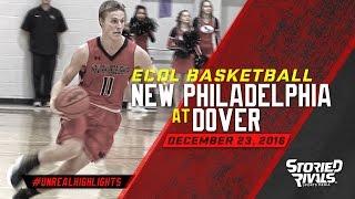 HS Basketball | New Philadelphia at Dover [12/23/16]