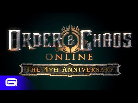 Order & Chaos Online - 4th Anniversary Infographic