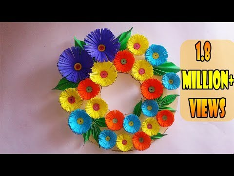 DIY-Wall Hanging Craft Ideas||DIY Room decoration Ideas|| DIY Christmas Wreath for Home Decoration