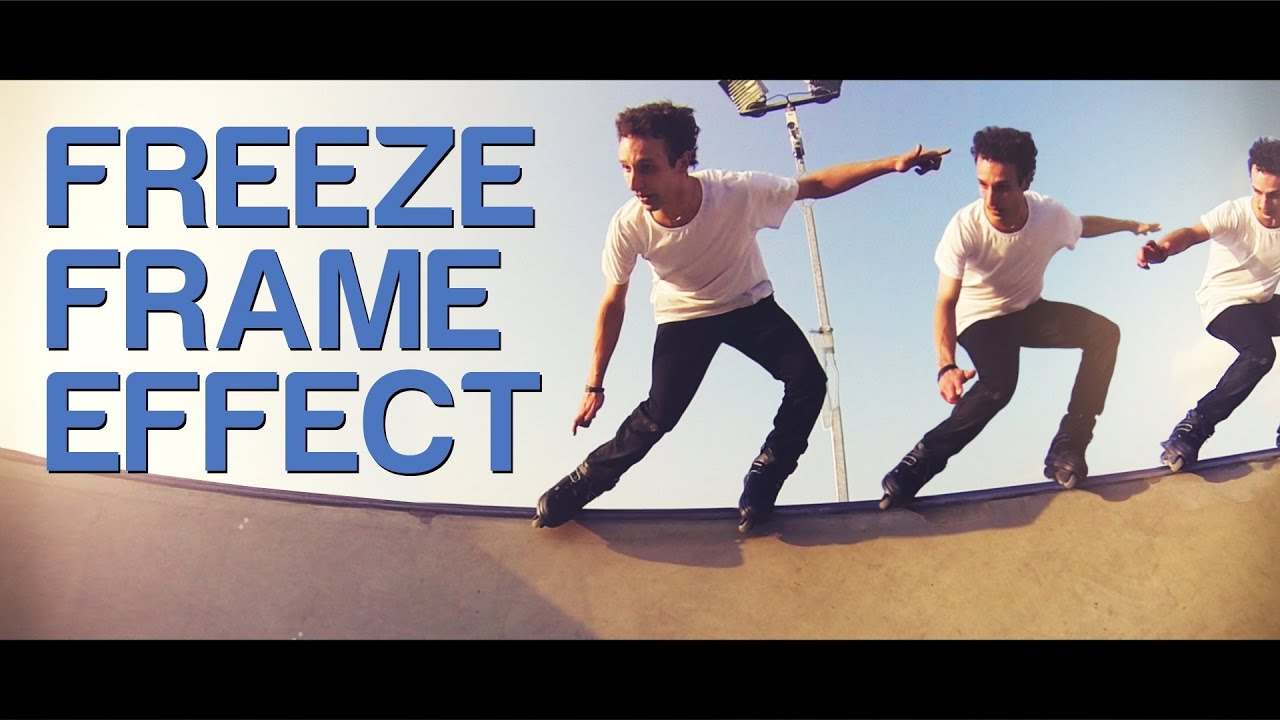 Freeze Frame Effect (whilst panning/moving camera) - YouTube
