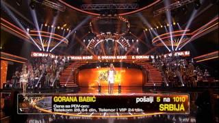 Gorana Babic - Ostrvo tuge - (live) - ZG polufinale 14/15 - 27.06.2015. EM 44 thumbnail