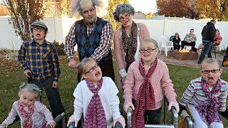 TRICK-OR-TREATING OLD PEOPLE | HALLOWEEN SPECIAL 2017