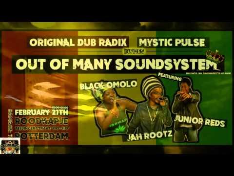 OOM SOUNDSYSTEM ls ODR crew & MYSTIC PULSE ft mc's ( salute showcase) - 41 steps @ r-dam 27-02-16