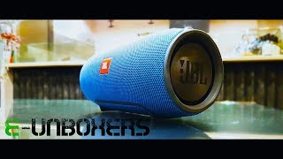 JBL Xtreme Bluetooth speaker unboxing + quick review