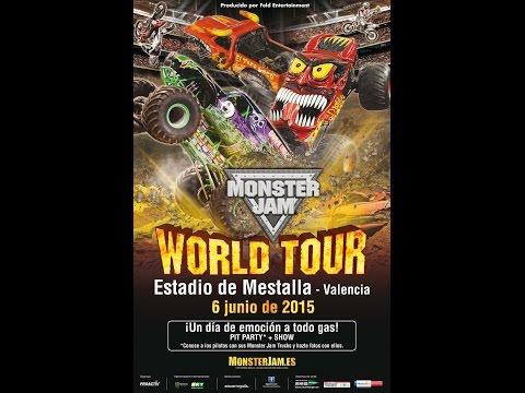 Monster Jam Valencia (Spain),  6 Junio 2015 . !! Best Moments!!