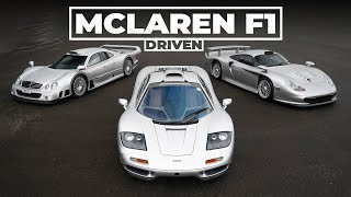 McLaren F1, Porsche 911 GT1, Mercedes CLK GTR: The ULTIMATE Group Test, Part 1 | Carfection 4K