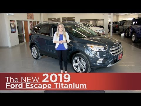 New 2019 Ford Escape Titanium - Elk River, Coon Rapids, Mpls, St Paul, St Cloud, MN | Review