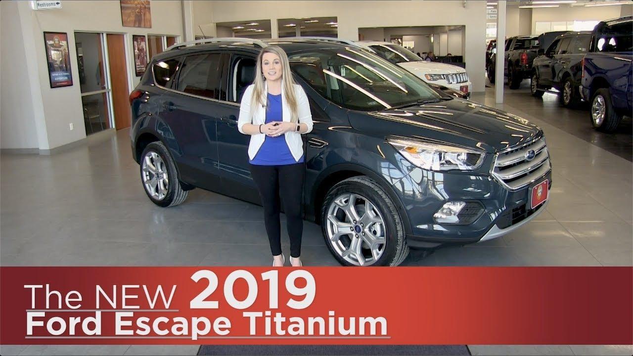 New 2019 Ford Escape Titanium - Elk River, Coon Rapids ...