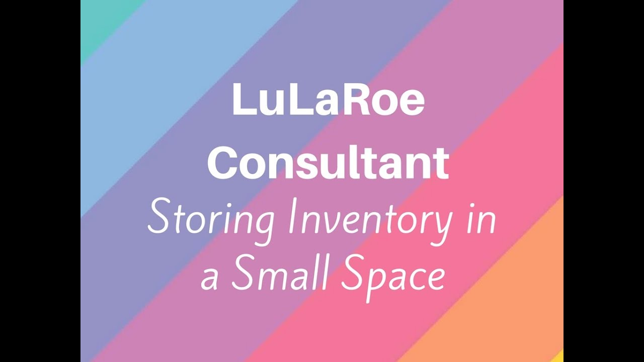 how to sell lularoe: tiny space edition! selling lularoe in a
