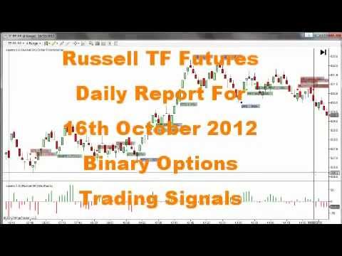 Binary Options 16th Oct 2012 daily Report Russell TF Futures
