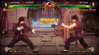 BruceLee Vs JackieChan  in Game !!!!!!! EPIC FIGHT !!!