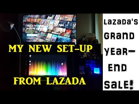 LAZADA UNBOX! Stepping Up My Set-Up This 2018!