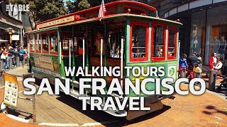 SAN FRANCISCO TRAVEL - USA, WALKING TOUR (4 HOURS 40 MINUTES)