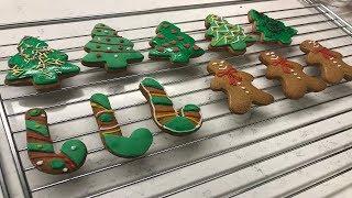 En Kolay Zencefilli Kurabiye Tarifi/ Yılbaşı Kurabiyesi/ Kurabiye Adam Yapımı/ Gingerbread Cookies