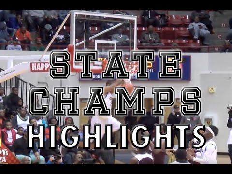East English Village vs. Detroit Renaissance - 2016 Boys Basketball Highlights on STATE CHAMPS!