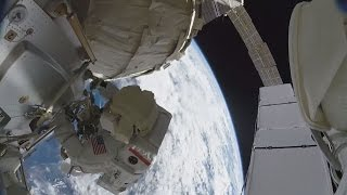 NASA Releases Video of Spacewalk at ISS