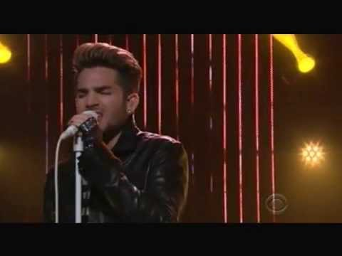 2015-07-16 Adam Lambert performing Ghost Town - The Late Late Show