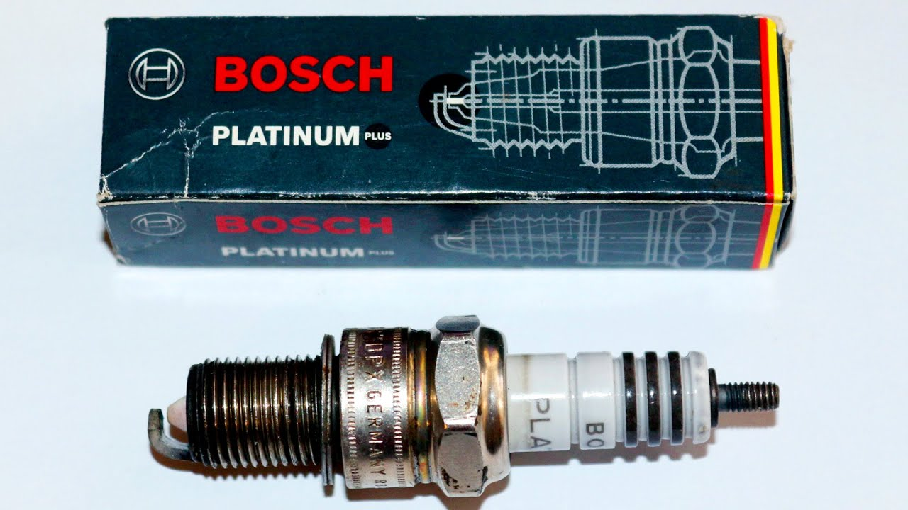 Обзор свечей BOSCH Platinum WR 7 DPX - YouTube