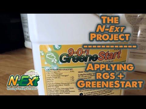 Fall Fertilizer // RGS + GreeneStart // N-Ext DIY Lawn Renovation