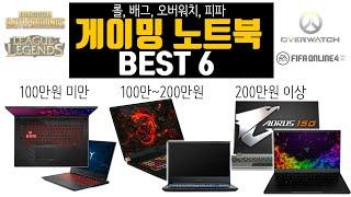 2020년 하반기 가격대별 게이밍 노트북 추천 BEST…