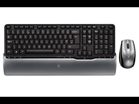 b25c37d616b My Logitech Cordless Desktop S520 Review - YouTube