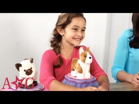 DIY Doll Pet Bed | Craft Studio | American Girl - YouTube