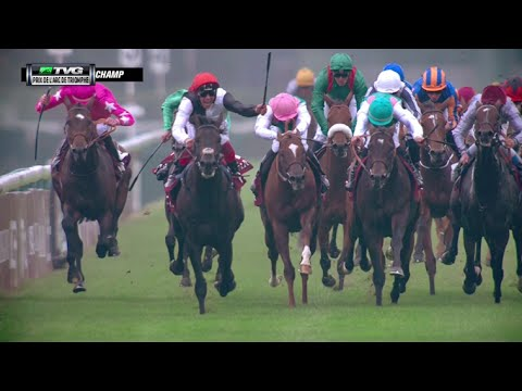 RACE REPLAY: 2015 Prix de l'Arc de Triomphe featuring Golden Horn and Treve
