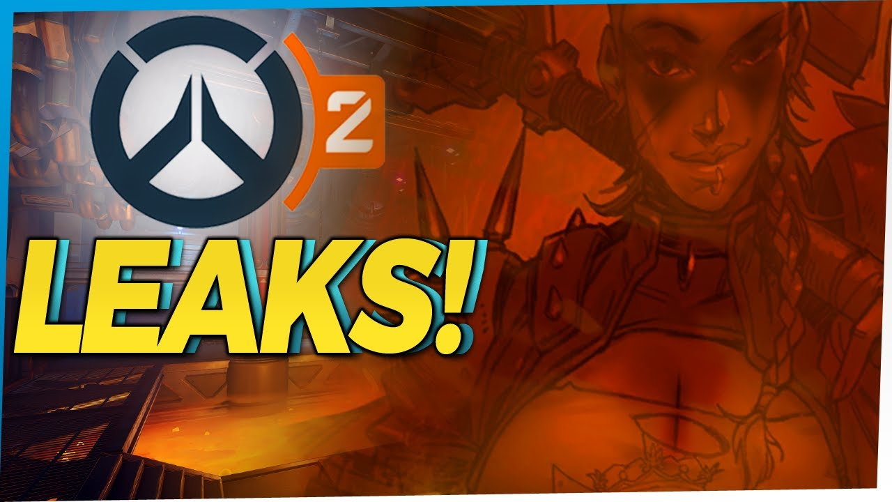 Overwatch Leaks! New Hero Junker Queen and Overwatch 2 Guild System