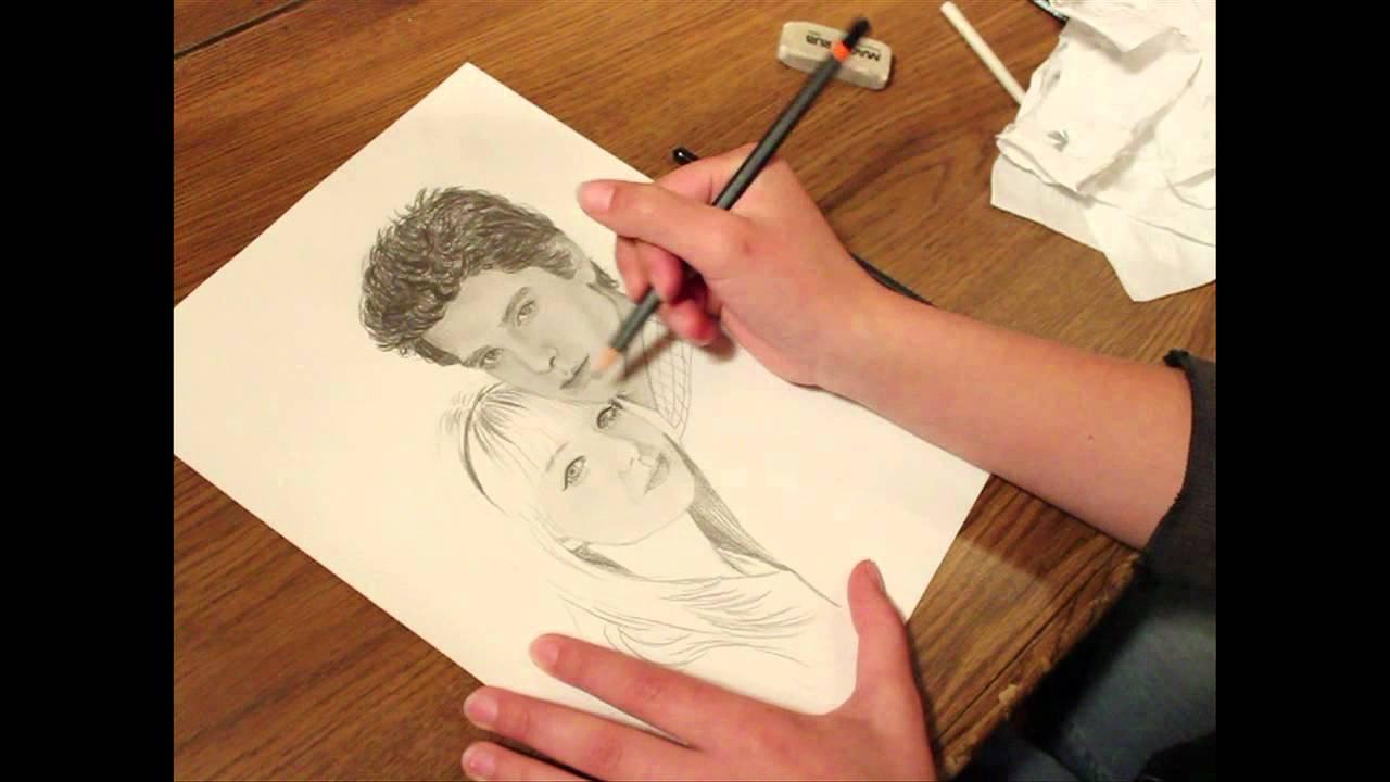 Spider-Man Andrew Garfield Emma Stone Speed Drawing - YouTube Andrew Garfield And Emma Stone