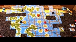 Table For Two Show S01xE12 - Carcassonne South Seas - Two Player Game Reviews!