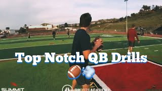👍 Incredible Quarterback Drills To Improve Your Game 🏈💨 Jordan Palmer's QB Summit