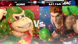 Game On Expo 2019 SSBU Friday Losers Semis - Braivety (Donkey Kong) vs Turtle123654 (Little Mac)